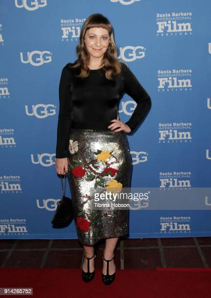 Emily V Gordon attends the 33rd Annual Santa Barbara International Film Festival Virtuosos Award Presentation at Arlington Theatre on February 3 2018...