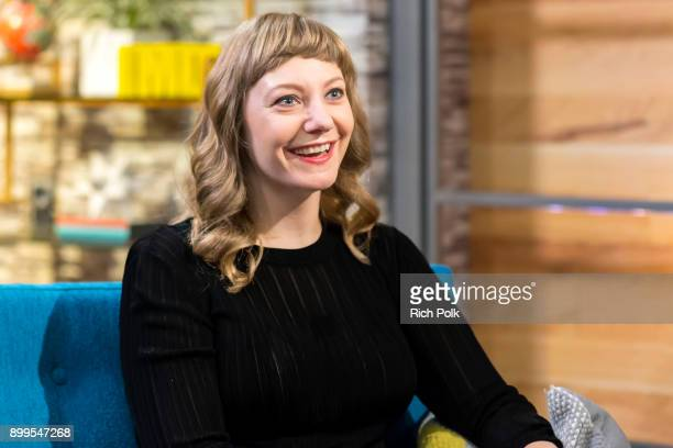 Emily V Gordon visits 'The IMDb Show' on December 13 2017 in Studio City California This episode of 'The IMDb Show' airs on December 29 2017