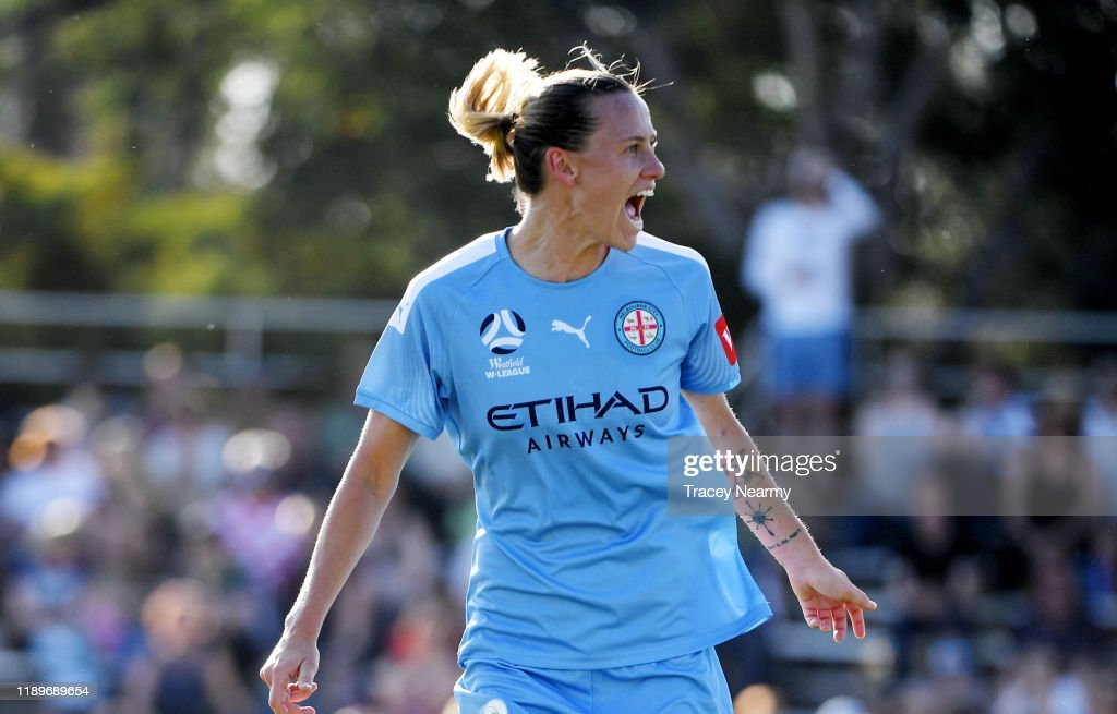 W-League Rd 2 - Canberra v Melbourne City : News Photo
