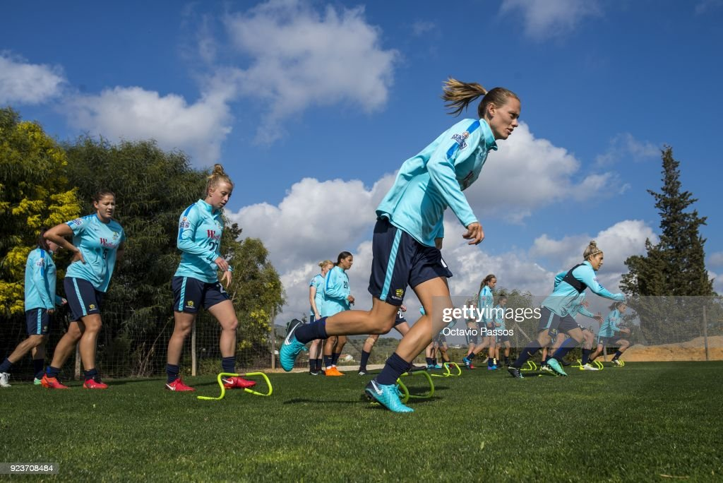 Australian Matildas Training Session