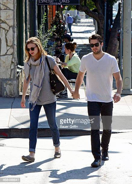Emily Vancamp And Joshua Bowman 2014