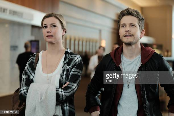 Emily VanCamp and Matt Czuchry in the 'And the Nurses Get Screwed' episode of THE RESIDENT airing Monday April 23 on FOX