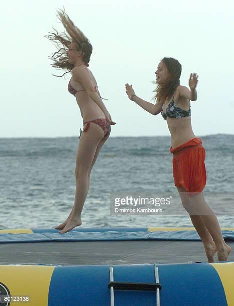 Emily VanCamp and Rachel Boston