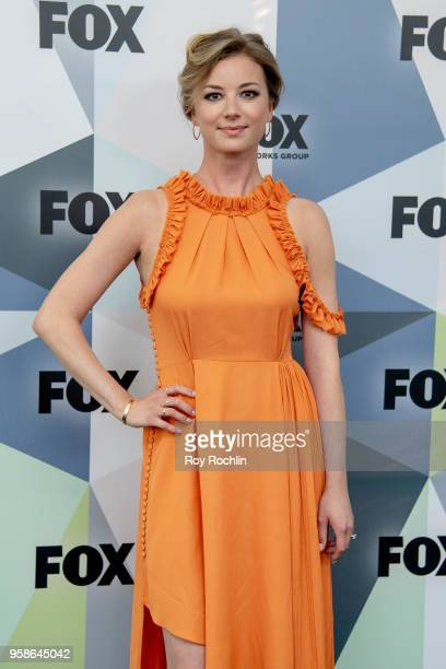 Emily VanCamp attends the 2018 Fox Network Upfront at Wollman Rink Central Park on May 14 2018 in New York City