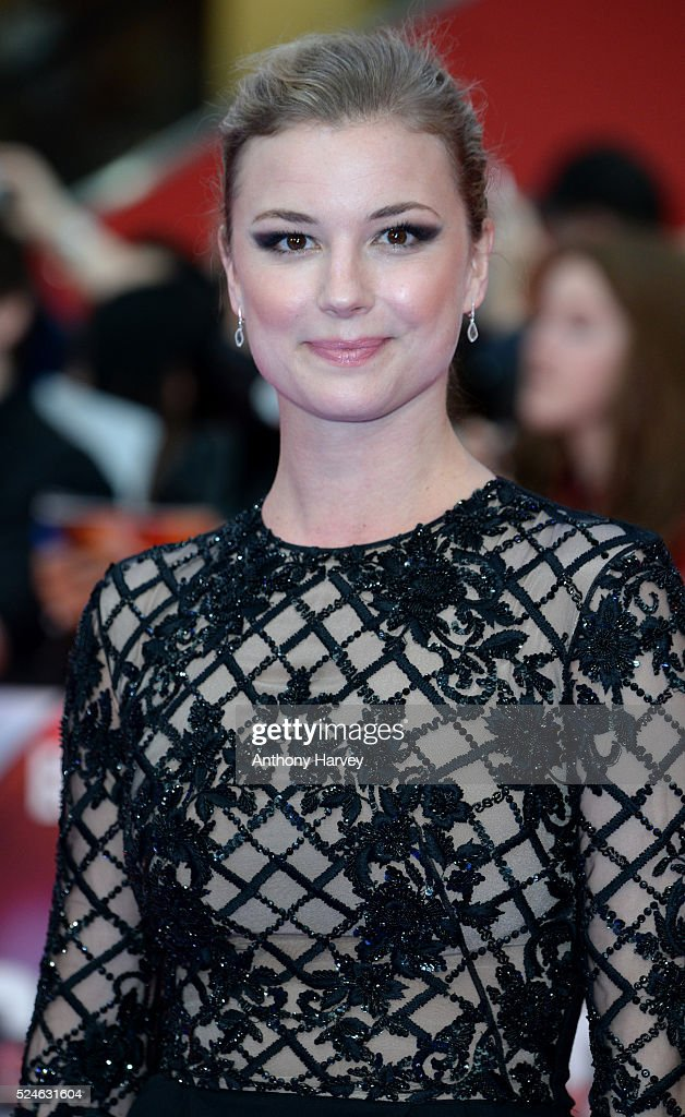 Emily Vancamp attends the European premiere of 'Captain America: Civil War' at Vue Westfield on April 26, 2016 in London, England