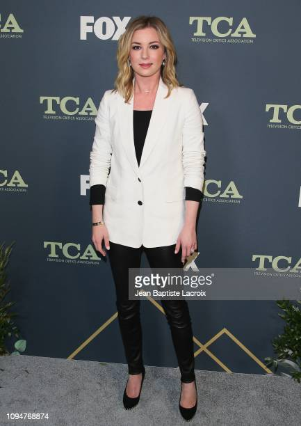 Emily VanCamp attends the Fox Winter TCA at The Fig House on February 06 2019 in Los Angeles California