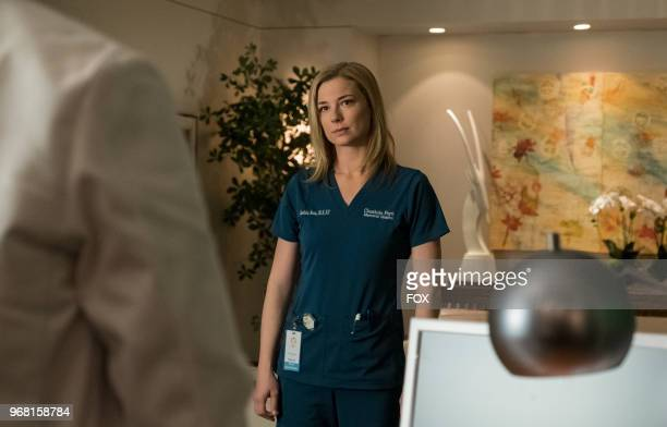 Emily VanCamp in the 'And the Nurses Get Screwed' episode of THE RESIDENT airing Monday April 23 on FOX