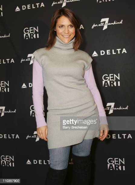 Emily Wagner attends the Gen Art Fresh Faces Party hosted by Seven Jeans at the Sky 360 Lounge on January 18 2008 in Park City Utah