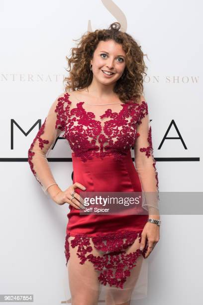 Emily WarburtonAdams attends the inaugural International Fashion Show at Rosewood Hotel on May 25 2018 in London England
