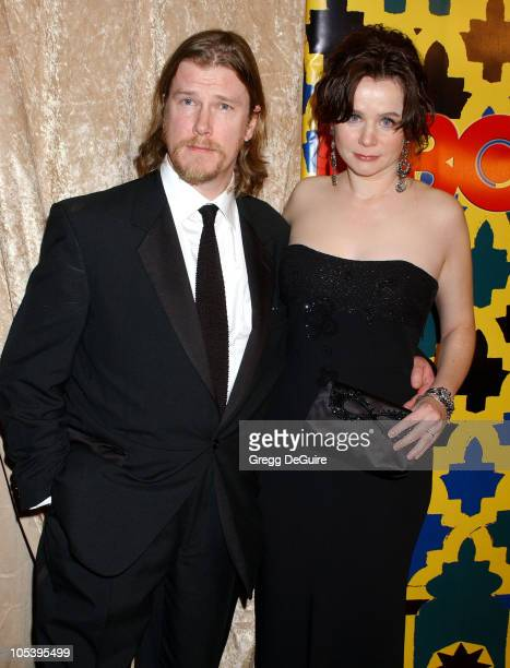 Emily Watson and Jack Waters during HBO Post Award Reception Celebrating The 62nd Annual Golden Globe Awards Arrivals at Griff's Restaurant in...