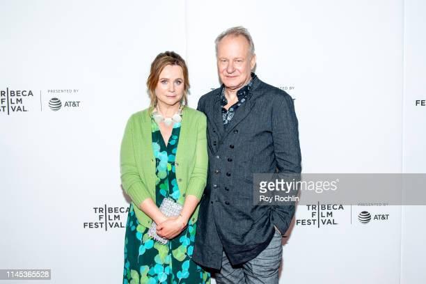 Emily Watson and Stellan Skarsgard attend Tribeca TV Chernobyl at the 2019 Tribeca Film Festival at Spring Studio on April 26 2019 in New York City