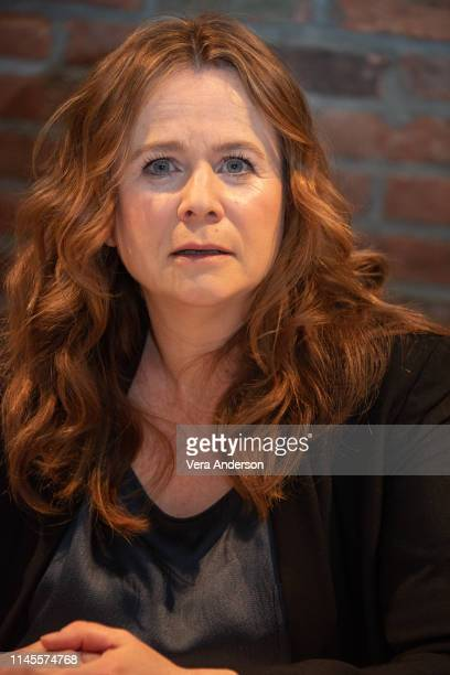 Emily Watson at the Chernobyl Press Conference at the Beekman Hotel on April 27 2019 in New York City