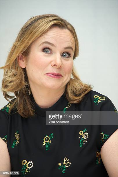 "Emily Watson at the ""Everest"" Press Conference at the Four Seasons Hotel on August 27, 2015 in Beverly Hills, California."