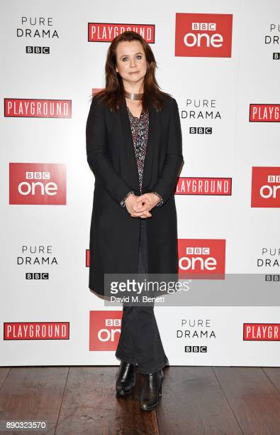 Emily Watson attends a special screening of new BBC drama 'Little Women' at The Soho Hotel on December 11 2017 in London England