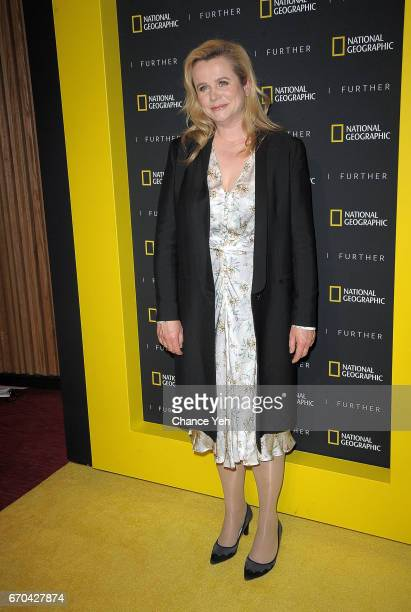 Emily Watson attends National Geographic FURTHER FRONT at Jazz at Lincoln Center's Frederick P Rose Hall on April 19 2017 in New York City