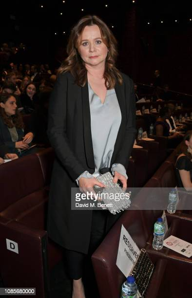 Emily Watson attends The 39th London Film Critics' Circle Awards at The May Fair Hotel on January 20, 2019 in London, England.