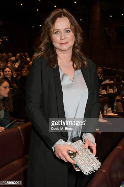 Emily Watson attends The 39th London Film Critics' Circle Awards at The May Fair Hotel on January 20 2019 in London England