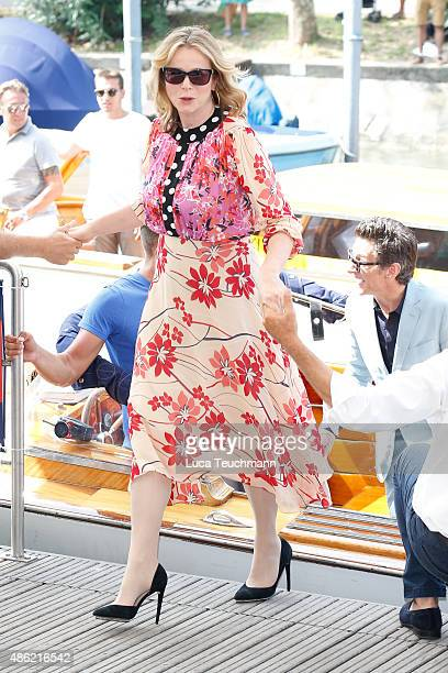 Emily Watson attends the 72nd Venice Film Festival on on September 2 2015 in Venice Italy