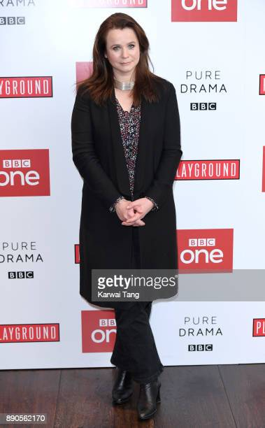 Emily Watson attends the 'Little Women' special screening at The Soho Hotel on December 11, 2017 in London, England.