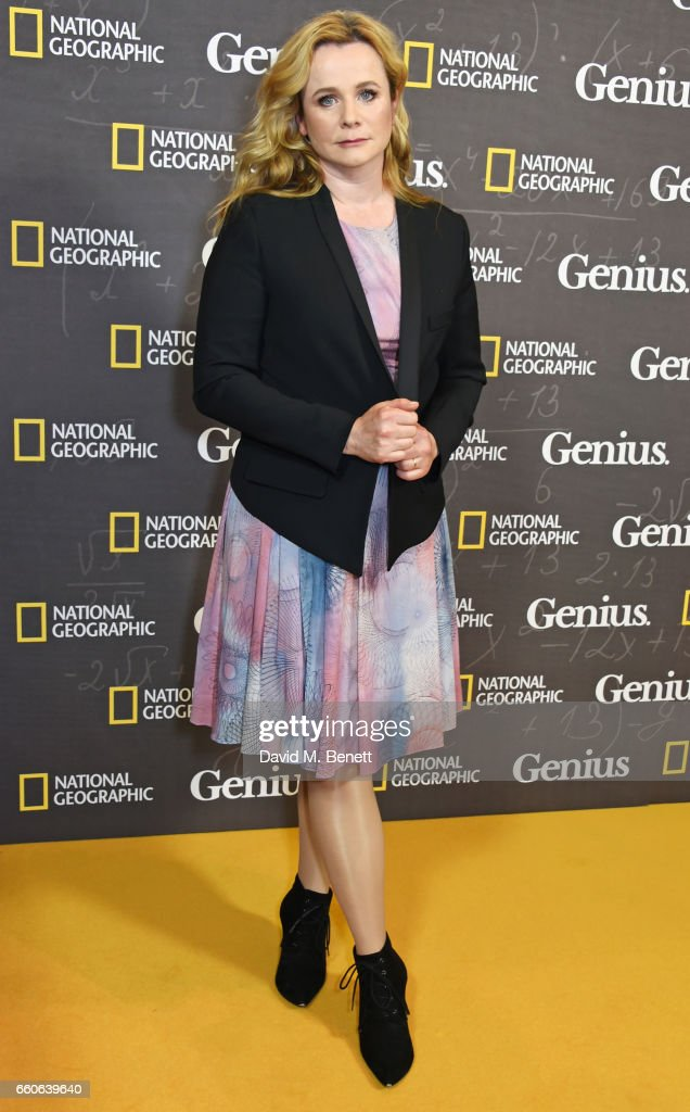 """National Geographic Channel's """"Genius"""" - London Premiere Screening -VIP Arrivals : News Photo"""