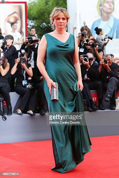 Emily Watson attends the opening ceremony and premiere of 'Everest' during the 72nd Venice Film Festival on September 2, 2015 in Venice, Italy.