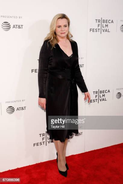 "Emily Watson attends the premiere of ""Genius"" during the 2017 Tribeca Film Festival at Borough of Manhattan Community College on April 20, 2017 in..."