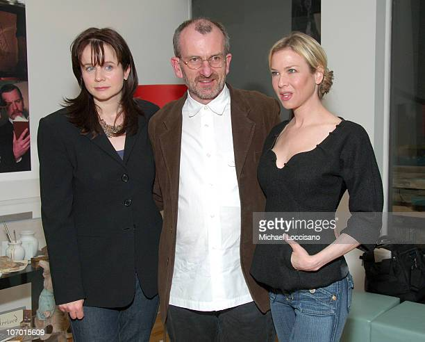 Emily Watson Chris Noonan Director and Renee Zellweger