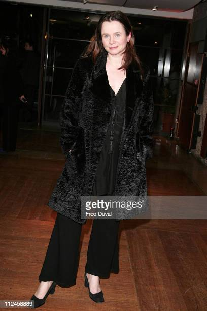 Emily Watson during 12th London Australian Film Festival launch with gala screening of The Proposition at The Barbican Centre in London United Kingdom