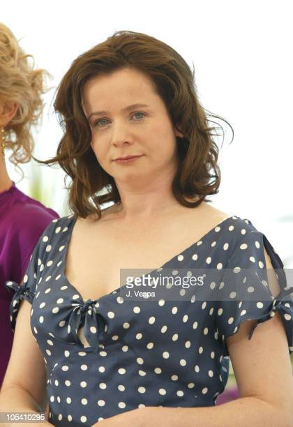 Emily Watson during 2004 Cannes Film Festival The Life and Death of Peter Sellers Photocall at Palais Du Festival in Cannes France