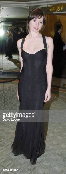 Emily Watson during 2005 Awards of the London Film Critics Circle at The Dorchester in London Great Britain
