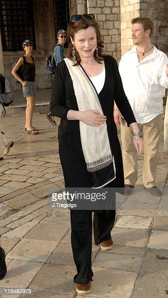 Emily Watson during 2005 Dubrovnik International Film Festival Emily Watson Tribute at Kino Sloboda in Dubrovnik Croatia