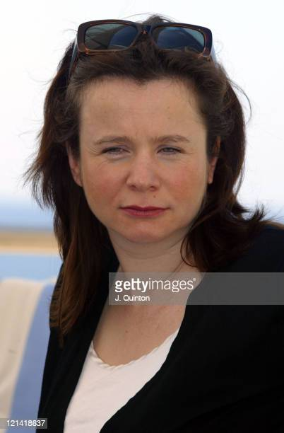 Emily Watson during 2005 Dubrovnik International Film Festival Emily Watson and Peter Medak Press Conference at Excelsior Hotel in Dubrovnik Croatia