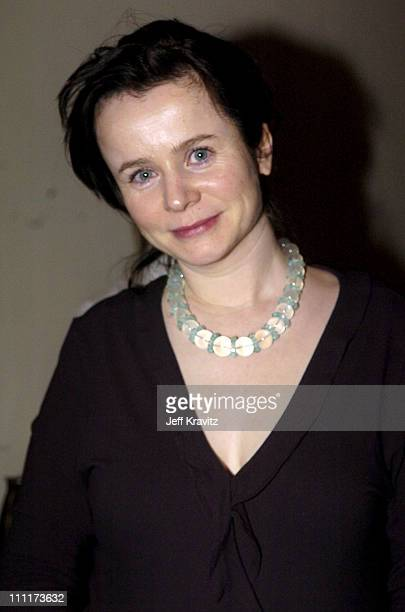 Emily Watson during 2005 HBO PreGolden Globe Awards Party in Los Angeles California United States