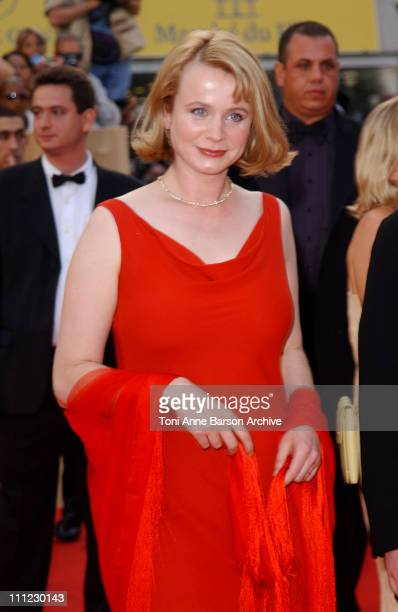 Emily Watson during Cannes 2002 PunchDrunk Love Premiere in Cannes France