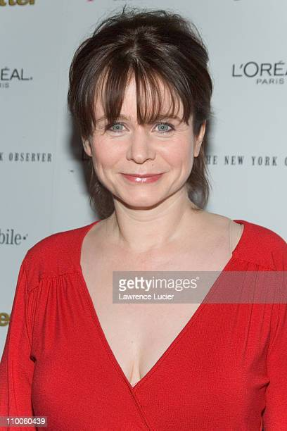 Emily Watson during Miss Potter New York Premiere - Inside Arrivals at DGA Theater in New York City, New York, United States.