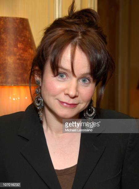 Emily Watson during Miss Potter Special Screening Dinner After Party at The Hotel Plaza Athenee in New York City New York United States