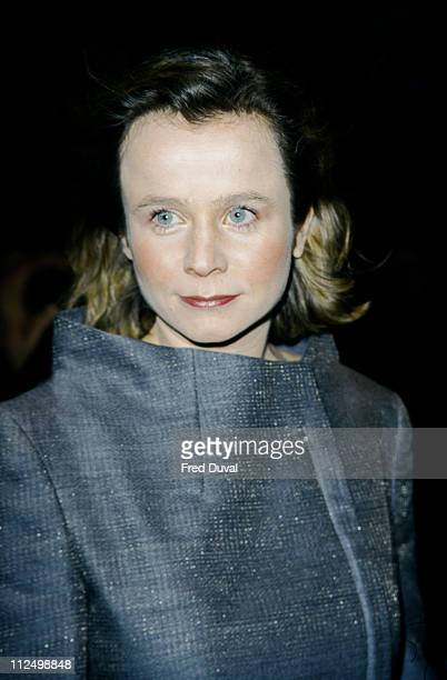 Emily Watson during NSPCC London Film Critics Circle Awards at Dorchester Hotel in London Great Britain