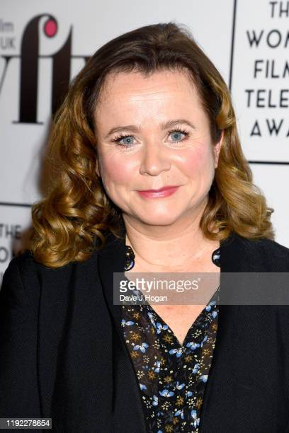 Emily Watson during Women in Film TV Awards 2019 at Hilton Park Lane on December 06 2019 in London England