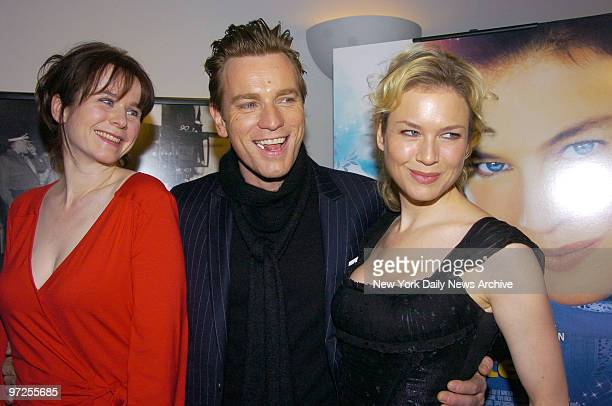 Emily Watson Ewan McGregor and Rene Zellweger are at the Director's Guild of America Theater for the premiere of the movie Miss Potter They star in...