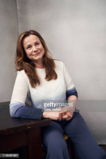 Emily Watson of the HBO series 'Chernobyl' poses for a portrait during the 2019 Tribeca Film Festival at Spring Studio on April 25 2019 in New York...