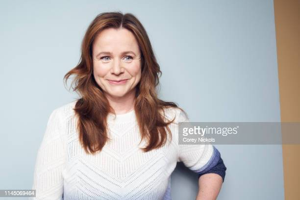 Emily Watson of the series 'Chernobyl' poses for a portrait during the 2019 Tribeca Film Festival at Spring Studio on April 25, 2019 in New York City.