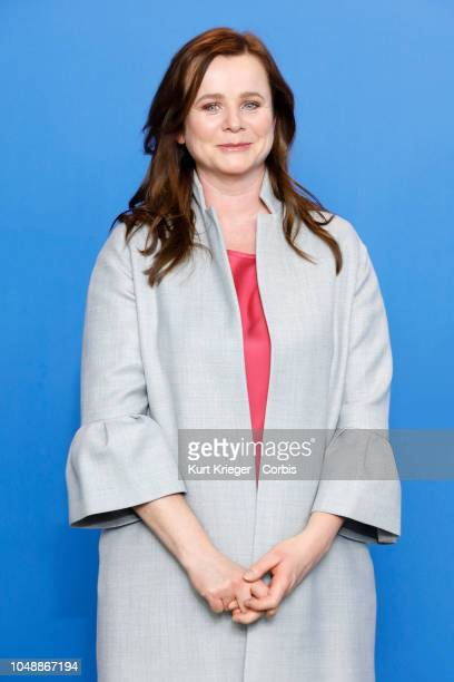 Emily Watson photographed at the photo call for 'The Happy Prince' during the 68th Berlin Film Festival at the Grand Hyatt Hotel on February 17 2018...