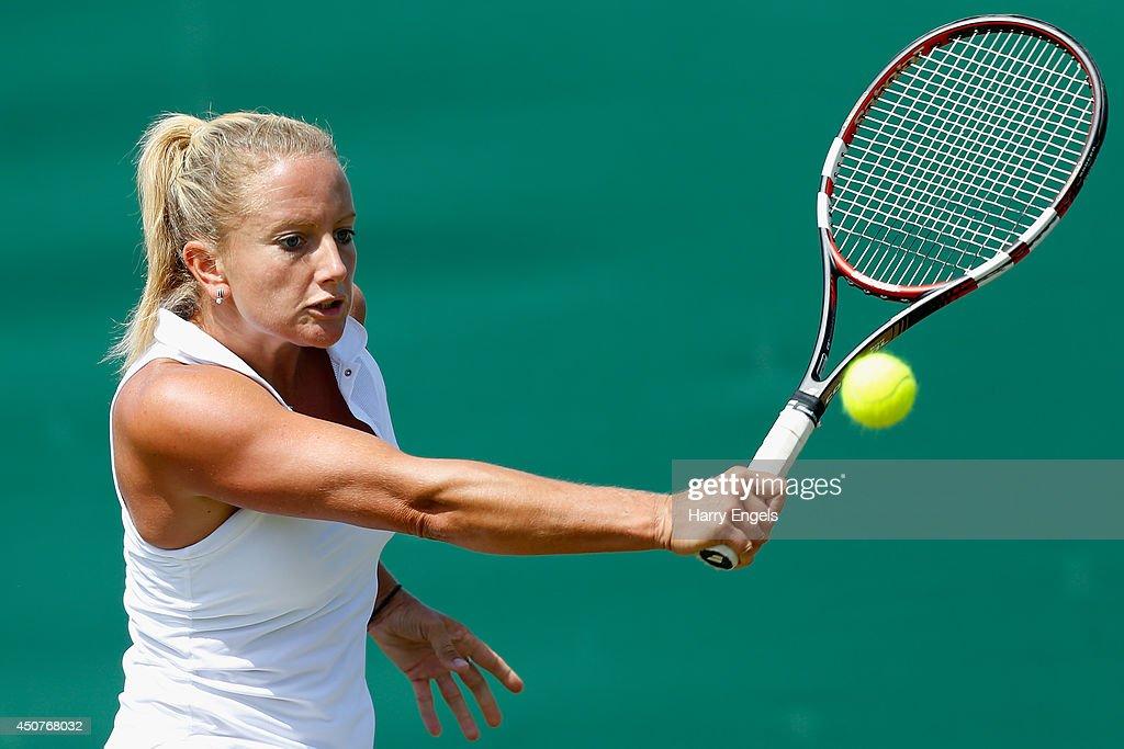 2014 Wimbledon Qualifying Session : News Photo