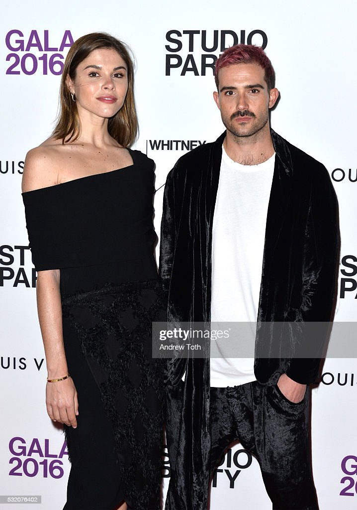 Emily Weiss and John Targon attend the 2016 Whitney Studio Party at The Whitney Museum of American Art on May 17, 2016 in New York City.