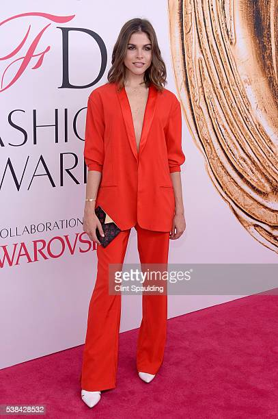 Emily Weiss attends the 2016 CFDA Fashion Awards at the Hammerstein Ballroom on June 6 2016 in New York City