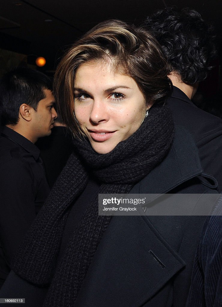 Emily Weiss attends the Band Of Outsiders Fashion Week Mens Collection After Party held at the Monkey Bar on February 7, 2013 in New York City.