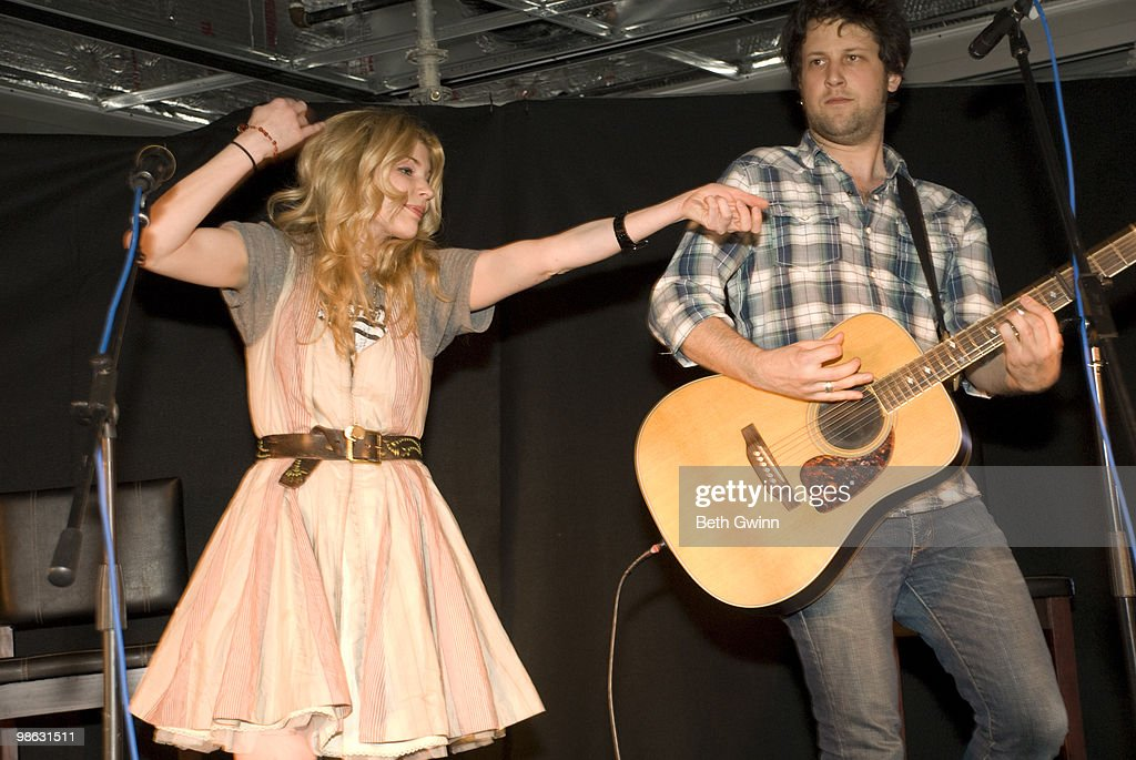 Emily West and Devin Malone attends and preforms at the Ellie's walk for Africa benefit at the Pinnacle Building on April 22, 2010 in Nashville, Tennessee.
