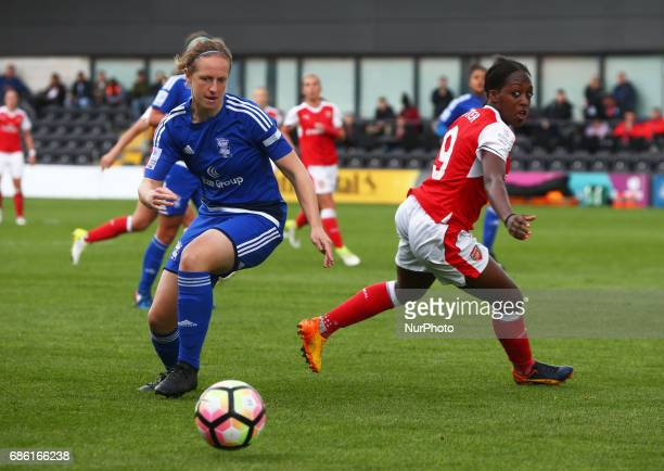 Emily Westwood of Birmingham City LFC Left during Women's Super League 1 Spring Series match between Arsenal Ladies against Birmingham City Ladies at...