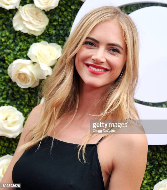 Emily Wickersham arrives at the 2017 Summer TCA Tour CBS Television Studios' Summer Soiree at CBS Studios Radford on August 1 2017 in Studio City...