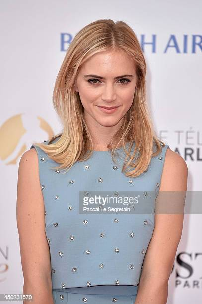 Emily Wickersham arrives at the opening ceremony of the 54th Monte-Carlo Television Festival on June 7, 2014 in Monte-Carlo, Monaco.